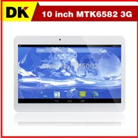 Wholesale 2015 Newest Quad core inch MTK6582 Android G G G Phone call Tablet PC GPS bluetooth Dual Camera Tablets with SIM Phablet
