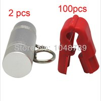 Wholesale 4 mm Retail Shop Anti thef display Hook Security Stop Lock for Display Hook Stem stop locks x magnetic keys
