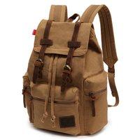 bamboo barrel - HOT new brand canvas men s Backpacks Casual women backpack bolsas mochila feminina men s travel bags fashion sport bag
