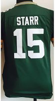 bart starr jersey cheap - Factory Outlet Kids Bart Starr green Jersey Cheap Football NYJ Game Limited Jerseys Stitched Boys Sports Youth Size Small XXL