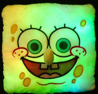 led pillow - EMS high quality LED light pillow color changing cartoon pillow