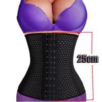 Cheap Free shipping Lady Sport Waist Tummy Girdle Glass Waist Trainer Body Shaper For Ladies Underbust Control Corset S-3XL