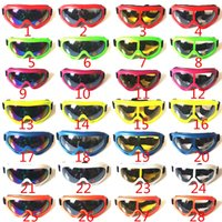 Wholesale Ski glasses to protect themselves from blowing sand motorcycle goggles cycling sports outdoor shock x400 tactical goggles