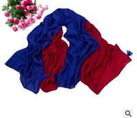 Wholesale 1 pc fashion and warm women shawl super large contrast color lady scarves size x cm in colors