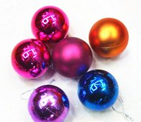 hanging balls - Party CM Wedding Color Balls Ornament Christmas Tree Candy Colored Decorations Home Festival Ornaments Hanging Gift
