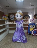 Cheap 2015 New adult plush mascot princess sofia of Carnival and Hallowmas patty kigurumi costume kigurumi free shipping