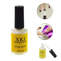 Wholesale 16 ml Pro Star Nail Art Glue for Adhesive Foil Sticker Transfer Decoration Nails Tips Beauty Tools ND180