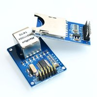 arm ethernet - 30Set ENC28J60 Ethernet LAN Network Module Schematic AVR LPC for arduino SD Card Module Slot Socket Reader ARM MCU