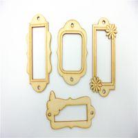 antique wood frames - Deal Different Frames mixed wood shapes Wood chipboard Wood Veneer Scrapbooking Embellishment DIY Craft