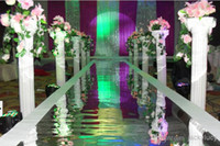 plastic columns - White Plastic Roman Columns Road Cited For Wedding Favors Party Decorations wedding props Hotels shopping mall Welcome Road Leader