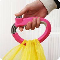 bag handle grip - One Trip Grip Shopping Grocery Bag Grip Holder Handle Carrier Tool folding Foldable bag Carrier Lock Kitchen Tool Labor saving