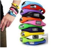 Cute Candy Ion Gelée Silicone caoutchouc Sports Bracelet Montre Ohsen Montre Pour Hommes Dames Montres Led Montre-bracelet Pocketwatch