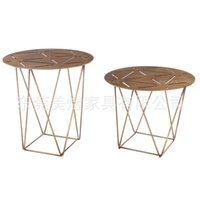 angle iron table - wear resistant coffee table of stainless steel phone plate stainless steel angles ET1501 H angle sofa