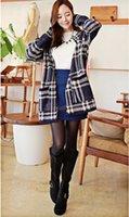 Cheap New Fashion Women Winter Retro Vintage Cascading Open Front Cardigan Geometric Pattern Oversized Sweater Tops 31