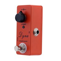 accessories compressor - Portable Dyna Compressor Electric Guitar Effect Pedal Lightweight Mini Single Effect with True Bypass Guitar Parts Accessories I1217