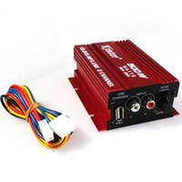 Wholesale MA Car And Motorcycle Small Amplifier Export Car And Motorcycle Amplifier With USB Charging