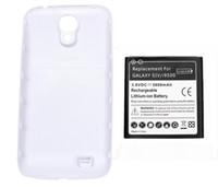 La galaxia S4 de la alta calidad amplió la batería del teléfono móvil con el caso de la contraportada para la batería AKKU ACCU 5800mAh de la galaxia S4 I9500 de Samsung libera la nave