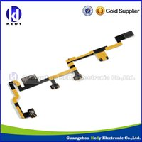Wholesale Power on off Flex Cable ribbon for Apple iPad ipad2 Silent Switch Mute Volume Button keyboard flex Replacement Parts high quality