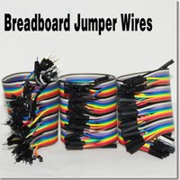 jumper cables - 120pcs Dupont Pack cm Breadboard Cable Jumper Wire Female to Male M M Female Female Rainbow Cable Dupont Wire For DIY