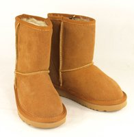 Wholesale Winter waterproof childrens snow boots warm Christmas winter boots girls boys kids boots Australian snow boots Shoes boots glitter2009