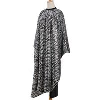 Wholesale 1Pcs Hair Cut Hairdressing Barbers Hairdresser Cape Gown Cover Cloth Elegant Feather Pattern Adult Salon