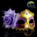Wholesale Halloween Mask Dance Princess Venice Half Face Mask Masquerade Party Female Performers Lace Mask