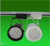 Wholesale Clothing Store LED Track Lights W V LED Spot Lighting Warm White White Light Color High Quality Track Lighting