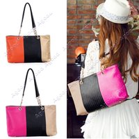 Wholesale Fashion Woman s Handbag Simple Shoulder Bag Lady Designer Leather Handbag Colors