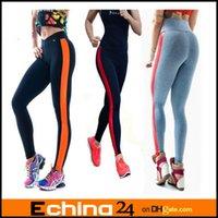 Women wholesale yoga pants - 15 Colors Women Soft Comfy Cotton Spandex Yoga Sweat Lounge Gym Sports Athletic Pants