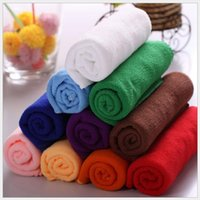 Wholesale 100 x70cm Microfiber Towel Car Cleaning kitchen towel ultra absorbent Washing Cloth Car color