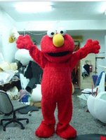 Wholesale Elmo Mascot Costume Halloween Costumes Chirstmas Party Adult Size Fancy Dress bno8
