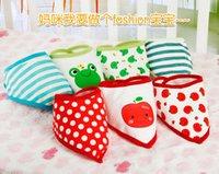Wholesale Cute Waterproof Baby Saliva Bibs Pure Cartoon Infant Pinafore Boys Apron Girls Pinny LM NEW