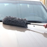 Wholesale Telescopic Nano car brush wax trailers wax brush car duster dusting brush car cleaning supplies Cleaning Mop