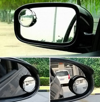 Wholesale 1000pairs Car Degree Rotatable Wide Angle Round Convex Blind Spot Mirror