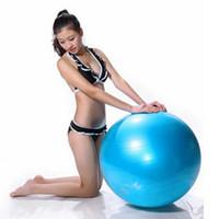 Wholesale Fitness ball cm yoga ball slimming ball explosion proof thickening yoga ball