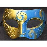 1000pcs Half Faces Masque Hommes Masques Silver Black Half Faces MASQUES Halloween Venetian Mardi Gras Masquerade Mask