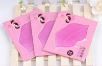 Wholesale 50pcs PILATEN Authorized Collagen Crystal Lips Mask Moisturizing Anti Aging Anti Wrinkle Lip Care one color