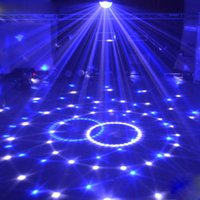 Wholesale Color Changeable LIXADA DMX Channels LED Rotating Strobe Crystal Ball Par Light Disco DJ Stage Lighting Effect Party Lamp