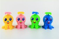 Wholesale Lovely Clockwork Octopus Wind Up Animal Baby Kids Plastic Classic Toys