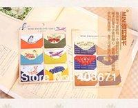Wholesale New cute designs mini envelope card set set greeting card