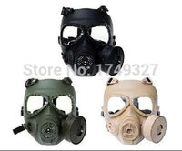 Wholesale Anti Fog Turbo Fan assembled Airsoft Full Face Protector Mask Paintball Wargame mask