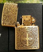 armor lighter - zip Brand high quality copy gold liner Armor Edition constantine lighter