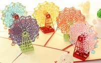 Wholesale Hot sale Kirigami D Pop up Card For Kids Birthday Greeting Cards set Combination Sale with Birthday Cake
