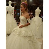 arm open - 2016 Wedding Dresses with Arm Bands New Arrival Sweetheart Beaded Appliques A Line Bridal Dresses with Open Back Custom Made Sweep Train