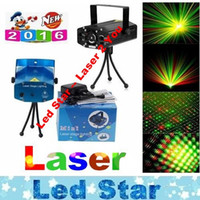 Wholesale DJ Laser mW Voice control Moving Auto Play Stage Lighting All Sky Star Laser Show Effects For Disco Party Christmas Lighting