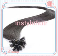 u tip hair extensions - Nail U Tip Hair Extensions inch Straight mink Brazilian Hair Extension Soft U Tip Human Hair Extension