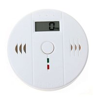 Wholesale 2014 High Quality Professional LCD Backlight Digital Carbon Monoxide Detector Poisoning CO Gas Sensor Alarm for Home Security A2