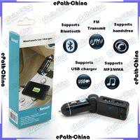 car bluetooth modulator - 2015 Bluetooth Car Kit Dual USB MP3 Player Charger Wireless AUX FM Transmitter Modulator