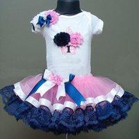 Wholesale 2016 Children Girl Cute Bubble Skirt Summer Princess Lace Bowknot Bowtie Skirt Colors