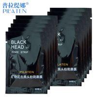 Wholesale PILATEN Face Care Facial Minerals Conk Nose Blackhead Remover Mask Pore Cleanser Deep Cleansing Black Head Pore Strip